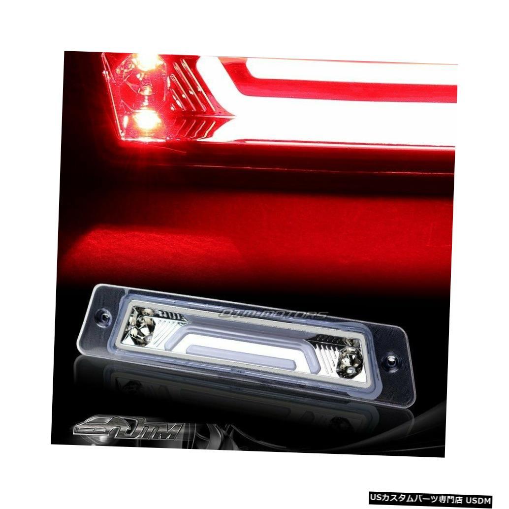 Tail light 1987-1993フォードマスタングクロームLEDバー3RDサードブレーキストップテールランプ For 1987-1993 Ford Mustang Chrome LED BAR 3RD Third Brake Stop Tail Light Lamp