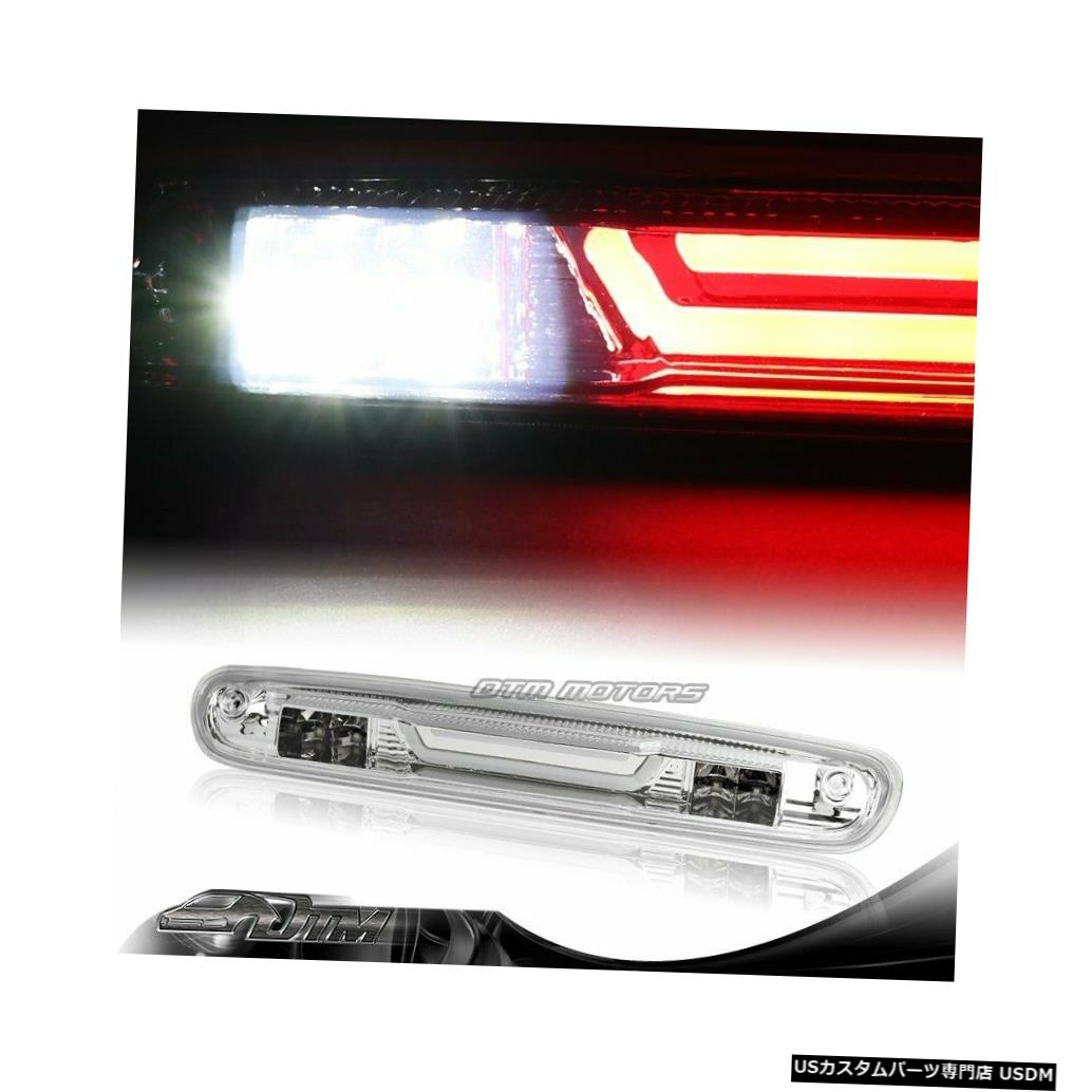 Tail light 2007-2014 GMC Sierra 2500HD 3500HD Chrome LED BAR 3RDサードブレーキストップライト For 2007-2014 GMC Sierra 2500HD 3500HD Chrome LED BAR 3RD Third Brake Stop Light