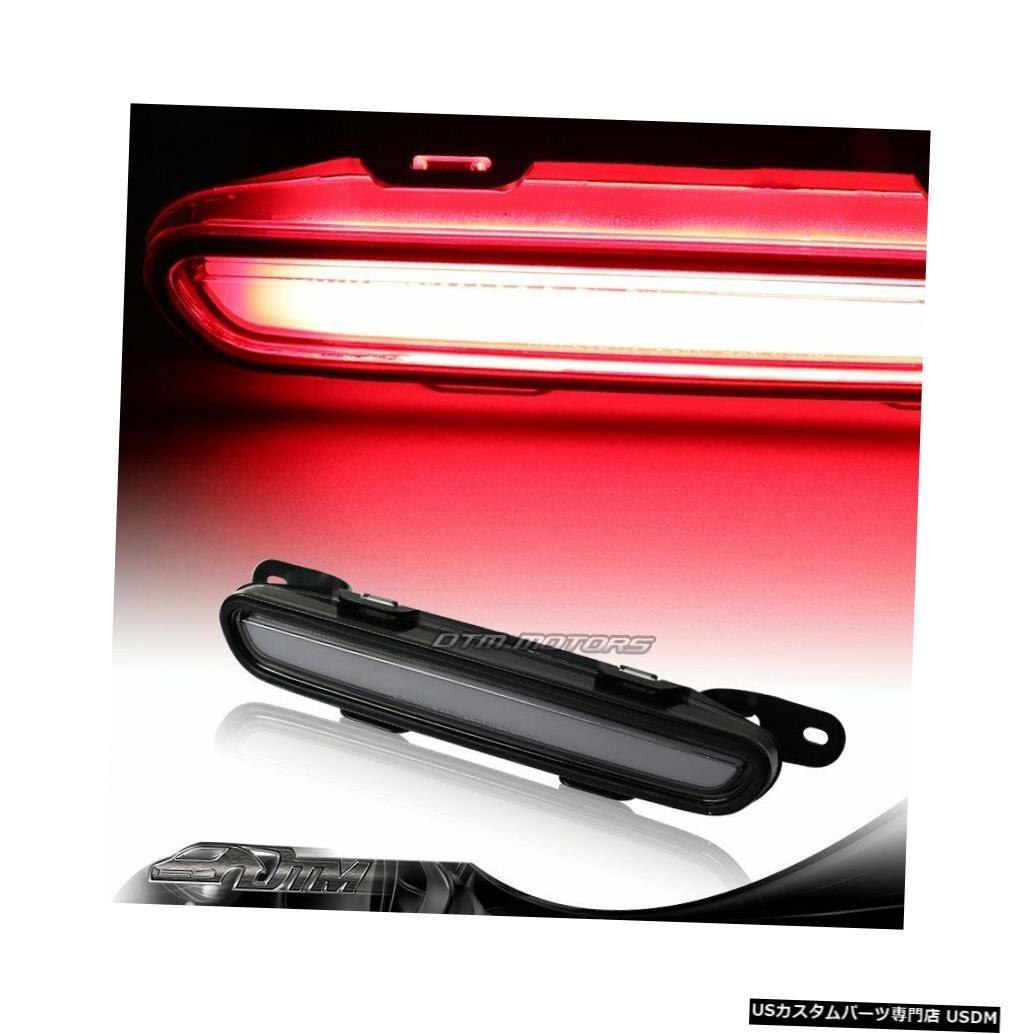 Tail light 2006-2010ダッジチャージャースモークレンズLEDストリップ3RDサードブレーキストップライトランプ For 2006-2010 Dodge Charger Smoke Lens LED Strip 3RD Third Brake Stop Light Lamp