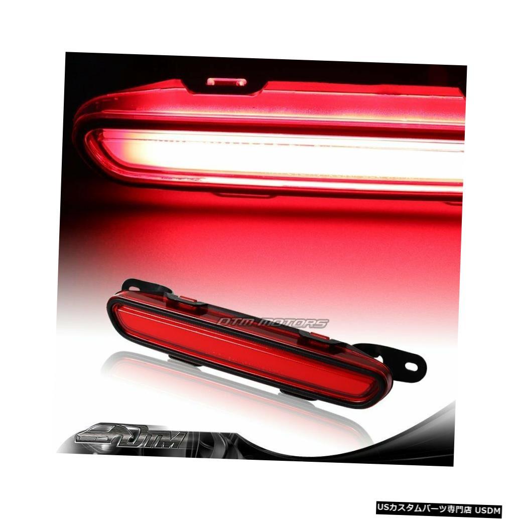 Tail light 06-10用ダッジチャージャーSXT SRT SEレッドレンズLEDストリップ3RDサードブレーキストップライト For 06-10 Dodge Charger SXT SRT SE Red Lens LED Strip 3RD Third Brake Stop Light