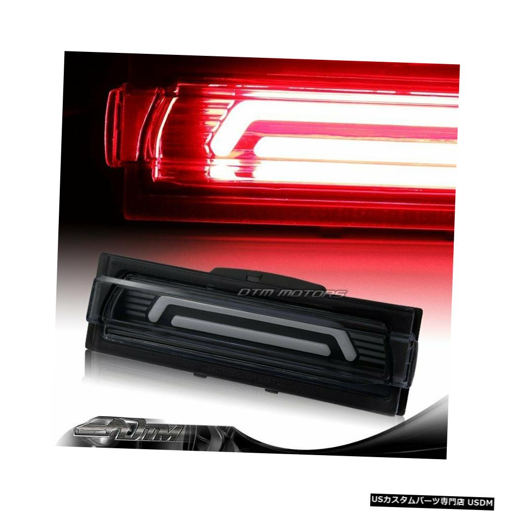 Tail light 1991-1996シボレーコルベットブラック/スモークレンズ用LEDバー3RDサードブレーキストップライト For 1991-1996 Chevy Corvette Black/Smoke Lens LED BAR 3RD Third Brake Stop Light