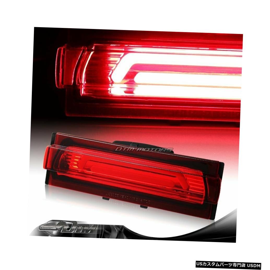 Tail light 91-96シボレーコルベットレッドレンズG2 LEDバー3RDサードブレーキストップライトランプ用 For 91-96 Chevy Corvette Red Lens G2 LED BAR 3RD Third Brake Stop Light Lamp