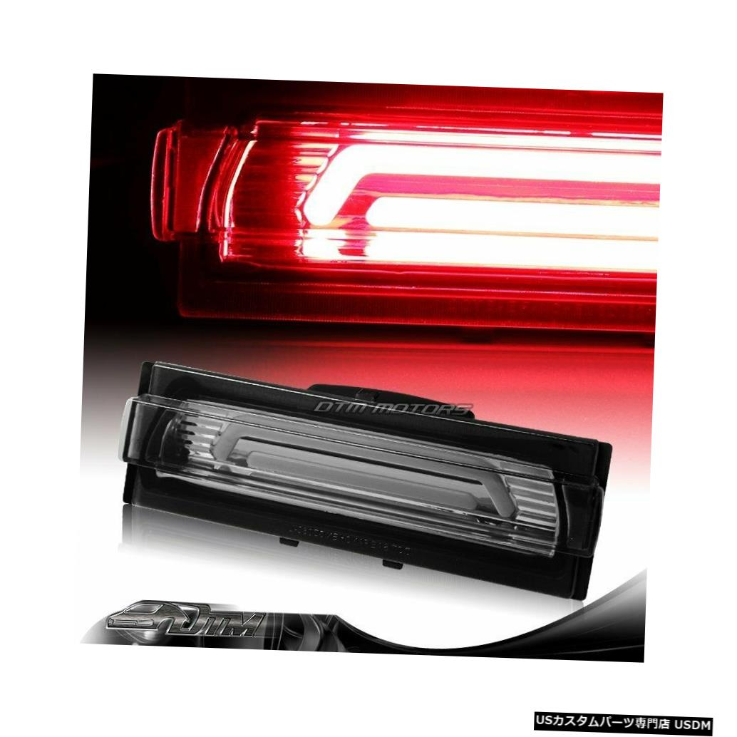 Tail light 91-96シェビーコルベットスモークレンズG2 LEDバー3RDサードブレーキストップライトランプ用 For 91-96 Chevy Corvette Smoke Lens G2 LED BAR 3RD Third Brake Stop Light Lamp