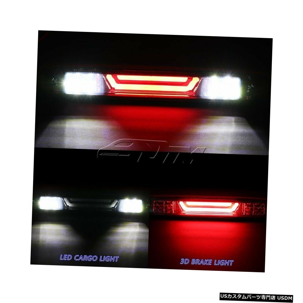 Tail light 2004-2012シェビーコロラドクロームLEDバー3RDサードブレーキライトW /カーゴランプ用 For 2004-2012 Chevy Colorado Chrome LED BAR 3RD Third Brake Light W/Cargo Lamp