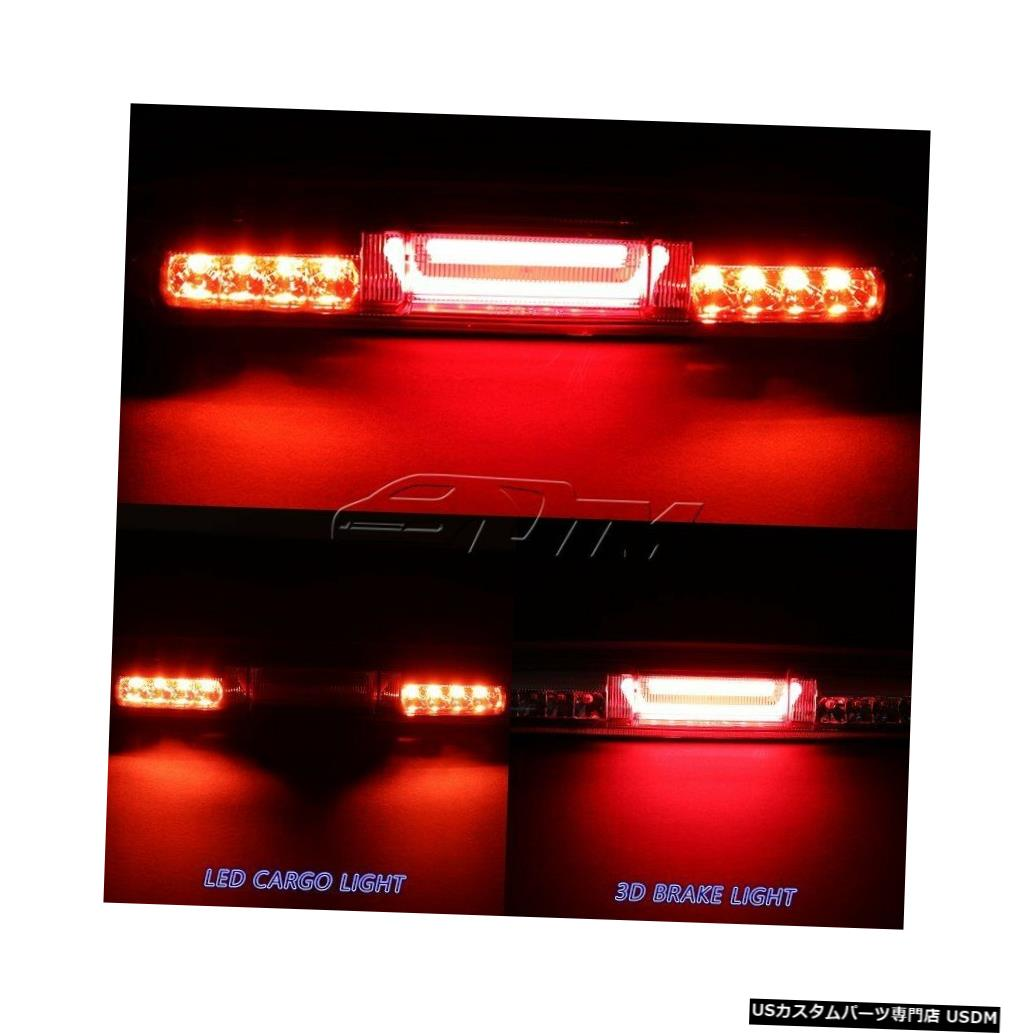 Tail light 1999-2006 GMCシエラレッドレンLEDバー3RDサードブレーキストップライト(カーゴランプ付き) For 1999-2006 GMC Sierra Red Len LED BAR 3RD Third Brake Stop Light W/Cargo Lamp