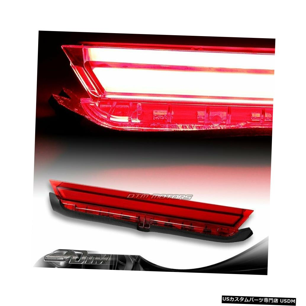 Tail light 11-16 Scion tCレッドレンズLEDストリップ3RDサードブレーキストップテールライトランプ用 For 11-16 Scion tC Red Lens LED Strip 3RD Third Brake Stop Tail Light Lamp