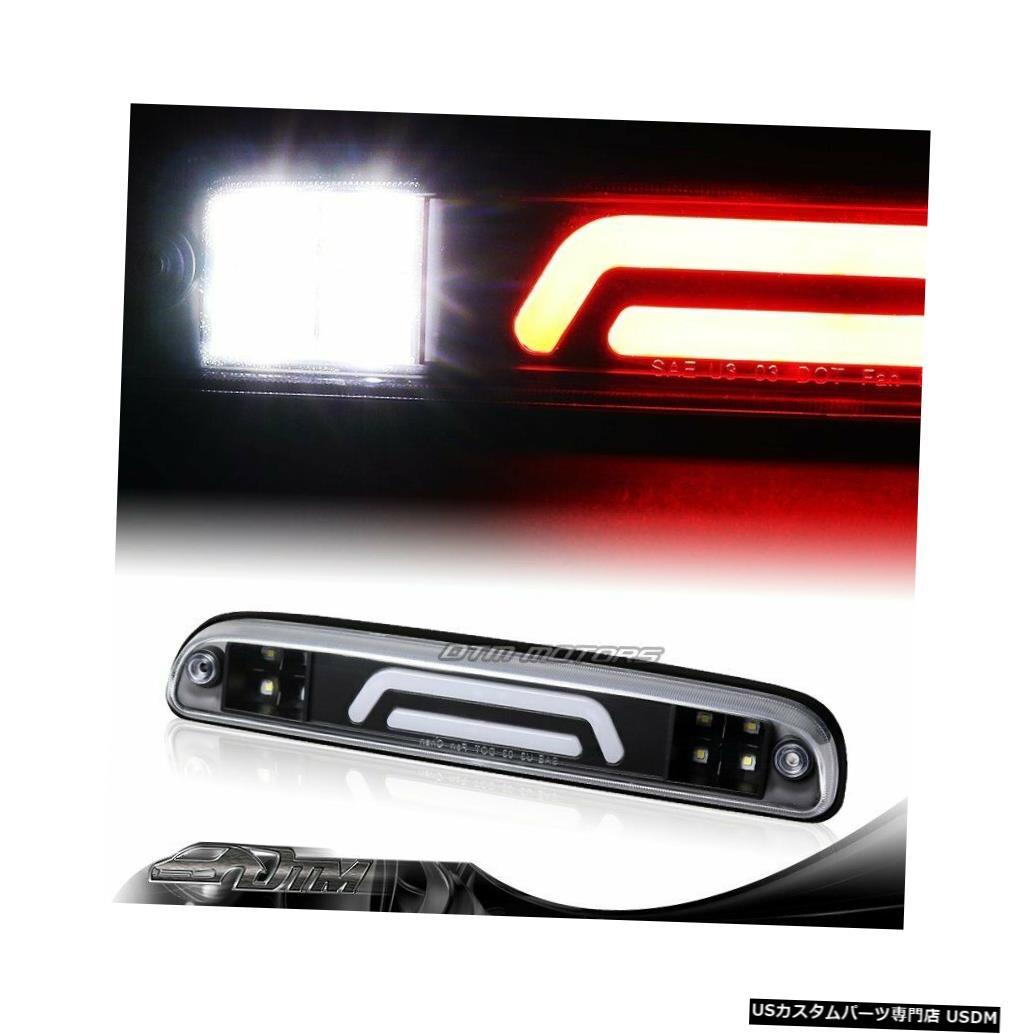 Tail light NEW F250 / 350/450スーパーデューティブラックLEDバー3RDサードブレーキライトW /カーゴランプ用 NEW For F250/350/450 Super Duty Black LED BAR 3RD Third Brake Light W/Cargo Lamp