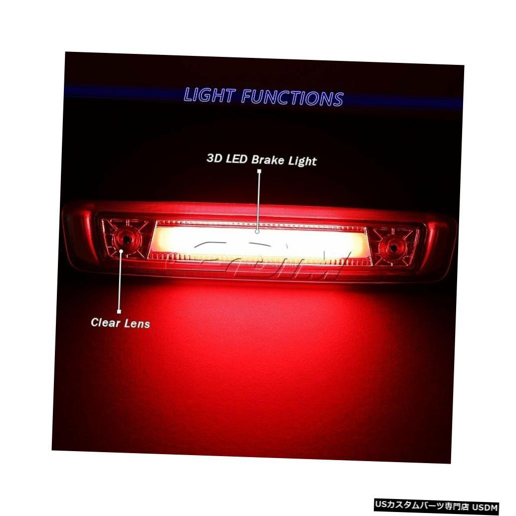 Tail light 06-10ジープコマンダークロームハウジング用LEDストリップ3RDサードブレーキストップライト For 06-10 Jeep Commander Chrome Housing LED Strip 3RD Third Brake Stop Light