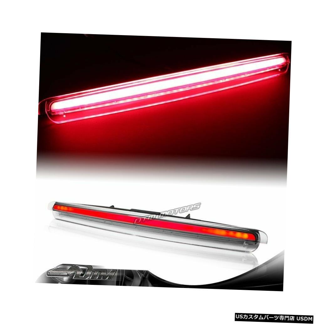 Tail light 2005-2010 Scion tCクロームクリアレンズLEDストリップ3RDサードブレーキストップライト For 2005-2010 Scion tC Chrome Clear Lens LED Strip 3RD Third Brake Stop Light