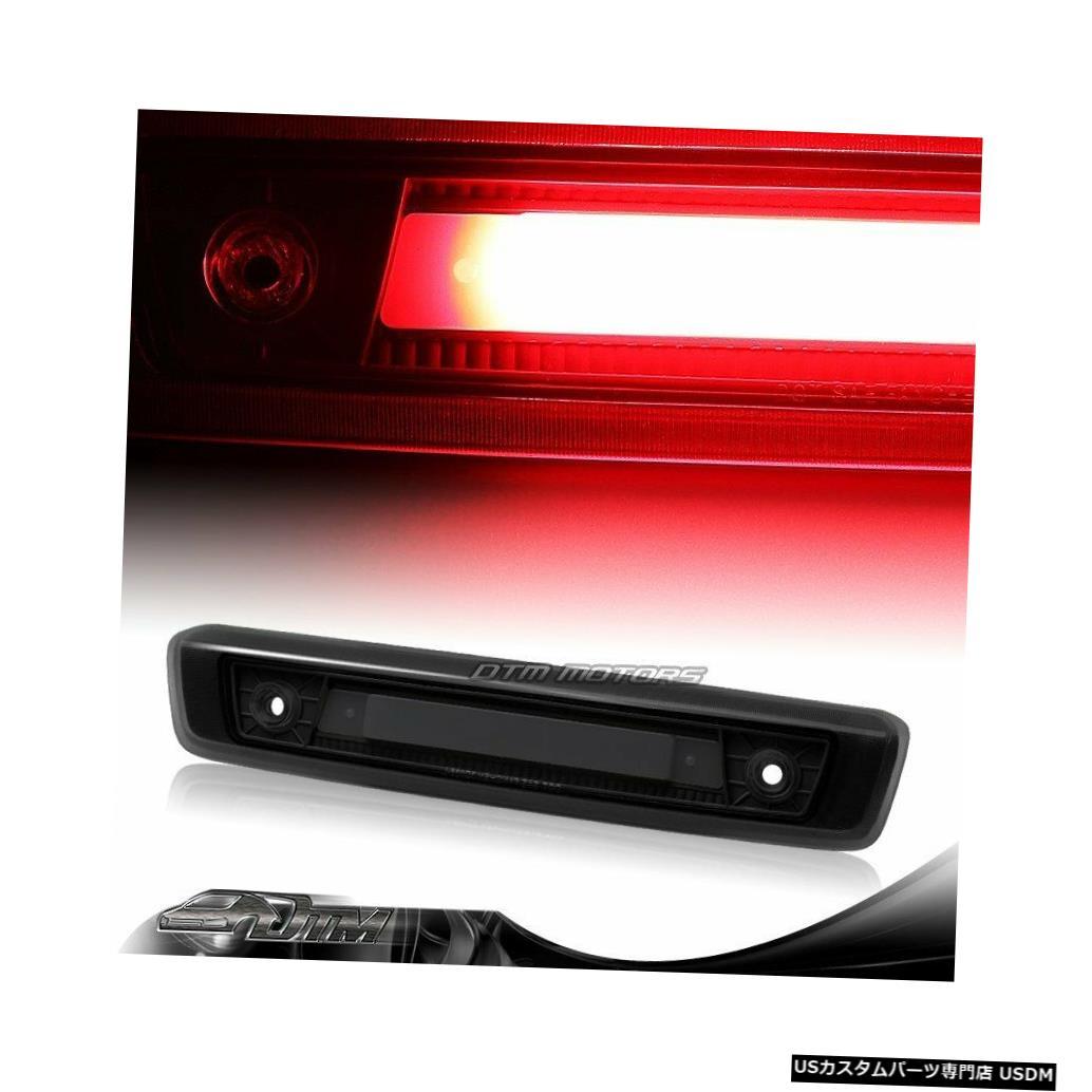 Tail light 2006-2010年用ジープコマンダーBLK /スモークLEDストリップ3RDサードブレーキストップテールライト For 2006-2010 Jeep Commander BLK/Smoke LED Strip 3RD Third Brake Stop Tail Light