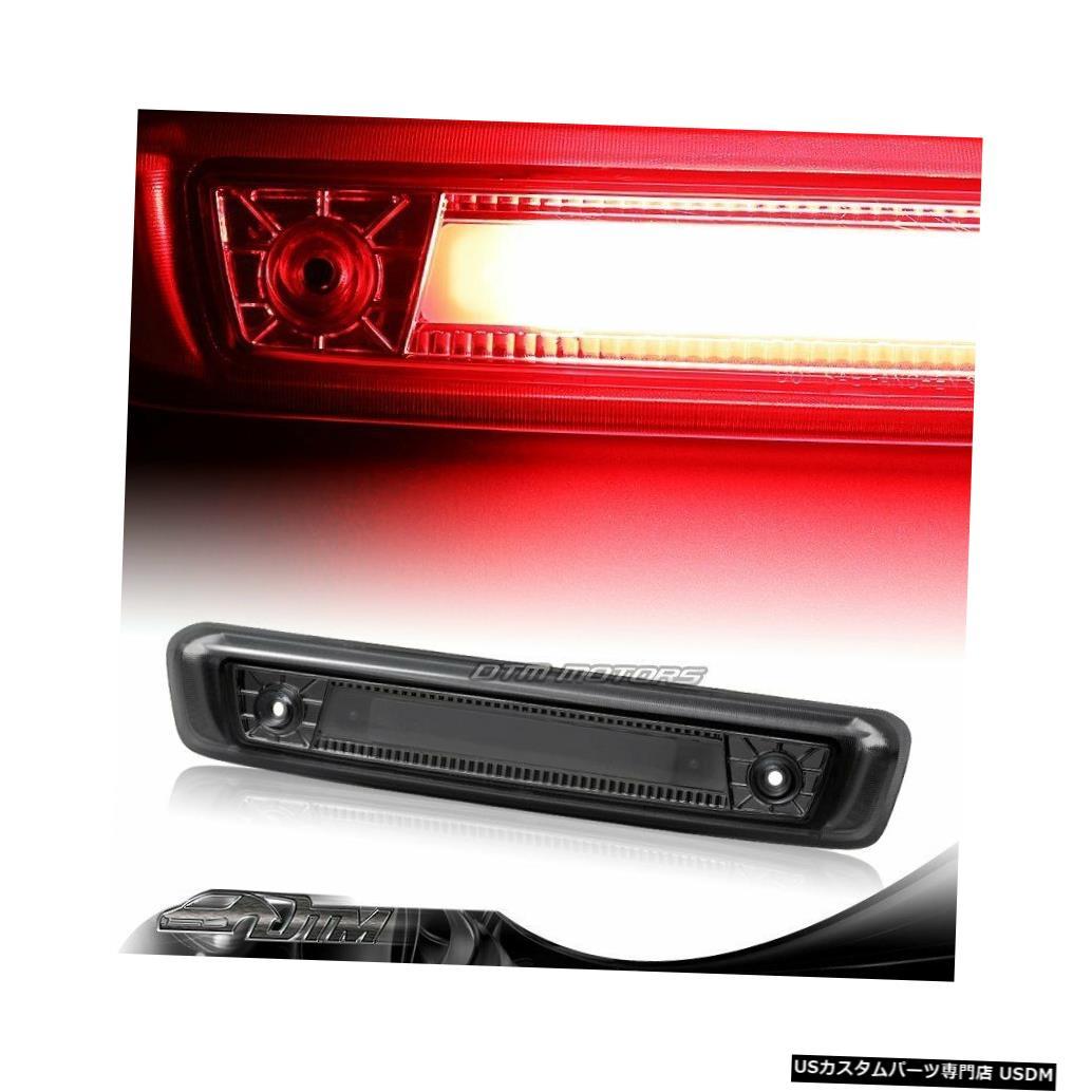 Tail light 2006-2010年のジープ司令官煙LEDストリップ3RDサードブレーキストップテールライト For 2006-2010 Jeep Commander Smoke LED Strip 3RD Third Brake Stop Tail Light