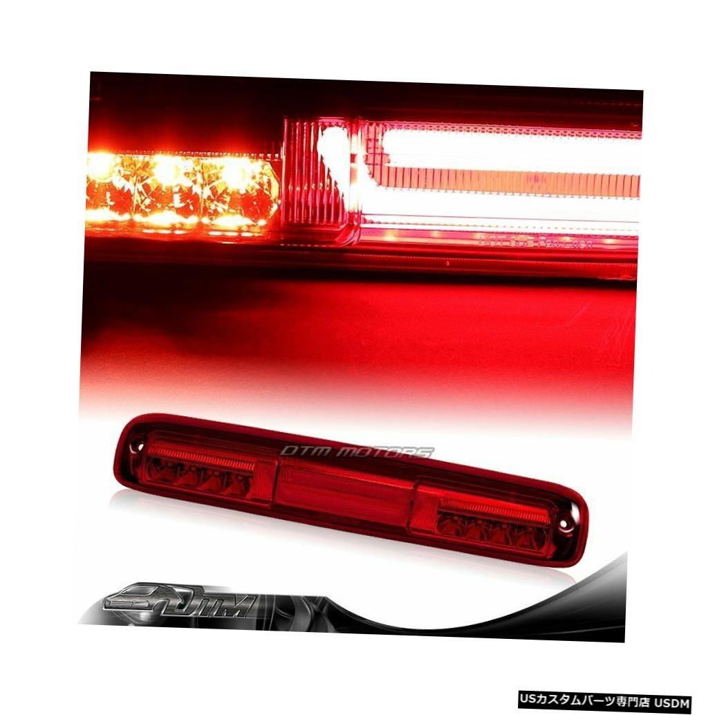 Tail light 99-06 GMCシエラレッドレンLEDバー3RDサードブレーキストップライト(カーゴランプ付き) For 99-06 GMC Sierra Red Len LED BAR 3RD Third Brake Stop Light W/Cargo Lamp