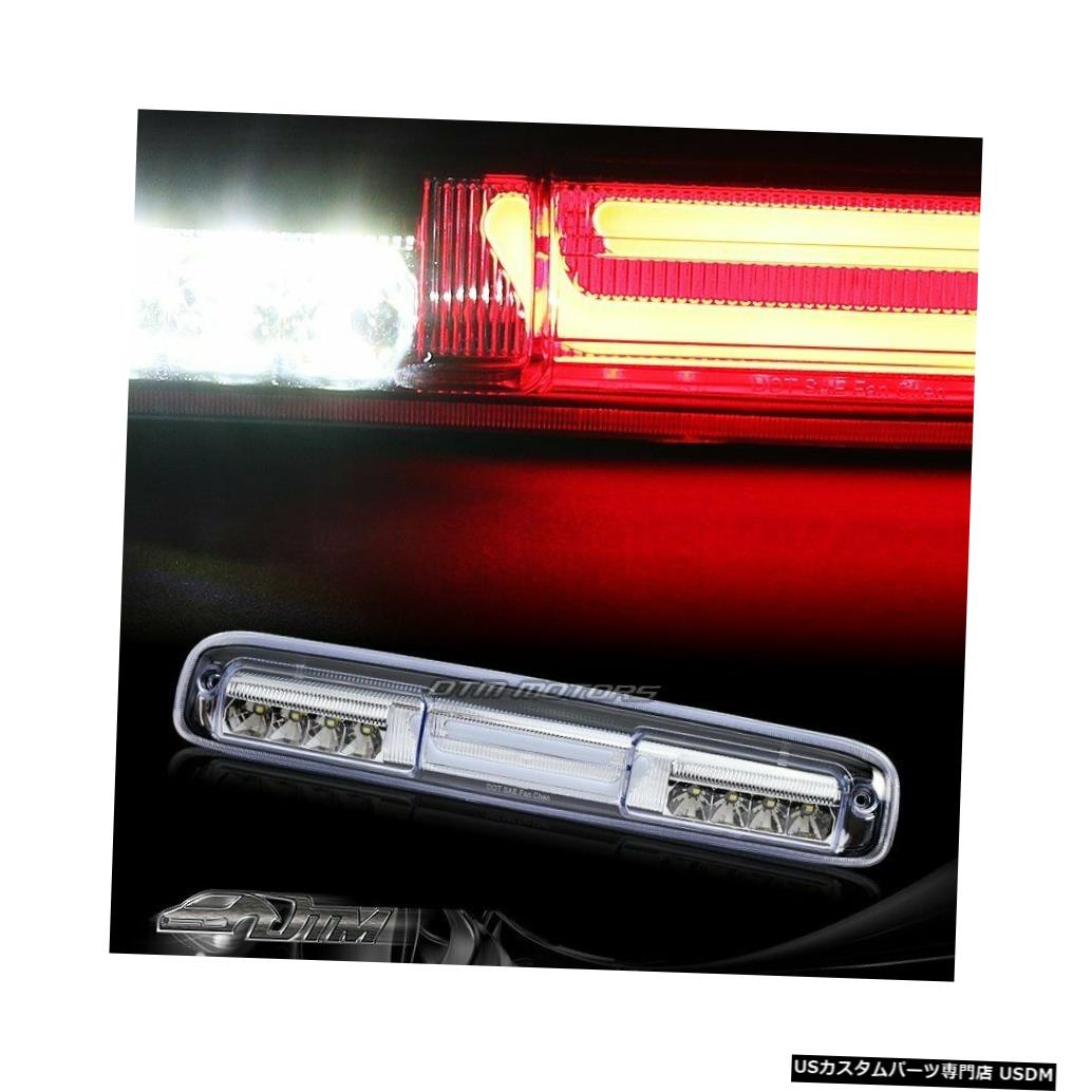 Tail light 1999-2006シェビーシルバラードクロームLEDバー3RDサードブレーキライトW /カーゴランプ用 For 1999-2006 Chevy Silverado Chrome LED BAR 3RD Third Brake Light W/Cargo Lamp