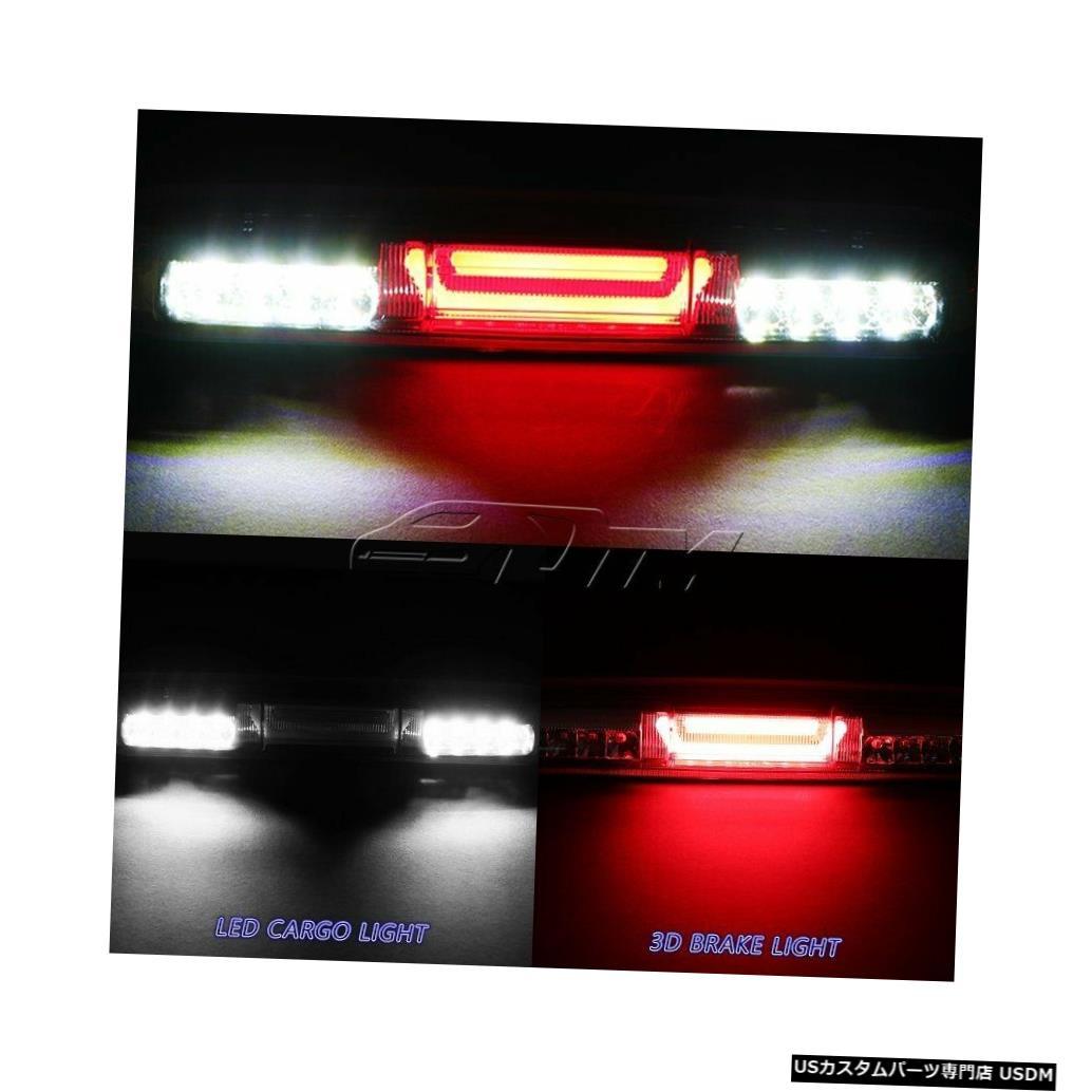 Tail light 1999-2006 GMCシエラクロームLEDバー3RDサードブレーキストップライト(カーゴランプ付き) For 1999-2006 GMC Sierra Chrome LED BAR 3RD Third Brake Stop Light W/Cargo Lamp
