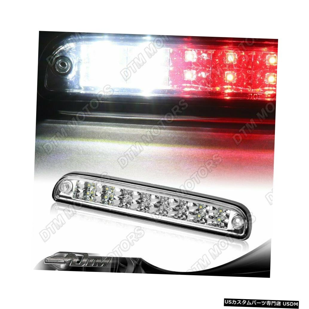 Tail light 1999-2016 Ford Super Duty Chrome LEDサード3RDブレーキストップライトカーゴランプ For 1999-2016 Ford Super Duty Chrome LED Third 3RD Brake Stop Light Cargo Lamp