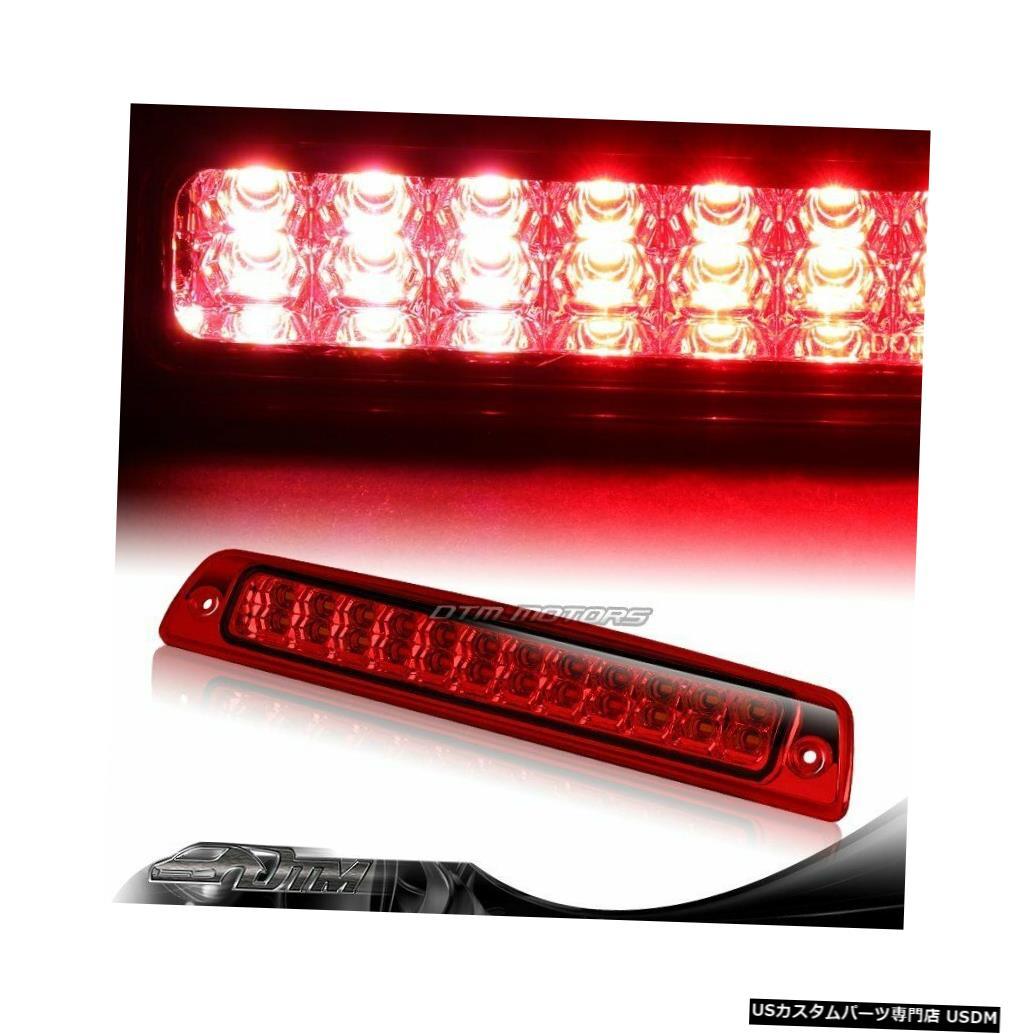 Tail light 94-01ダッジラム1500 2500 3500赤レンズ24 LED 3RDサードブレーキストップライト For 94-01 Dodge Ram 1500 2500 3500 Red Lens 24-LED 3RD Third Brake Stop Light