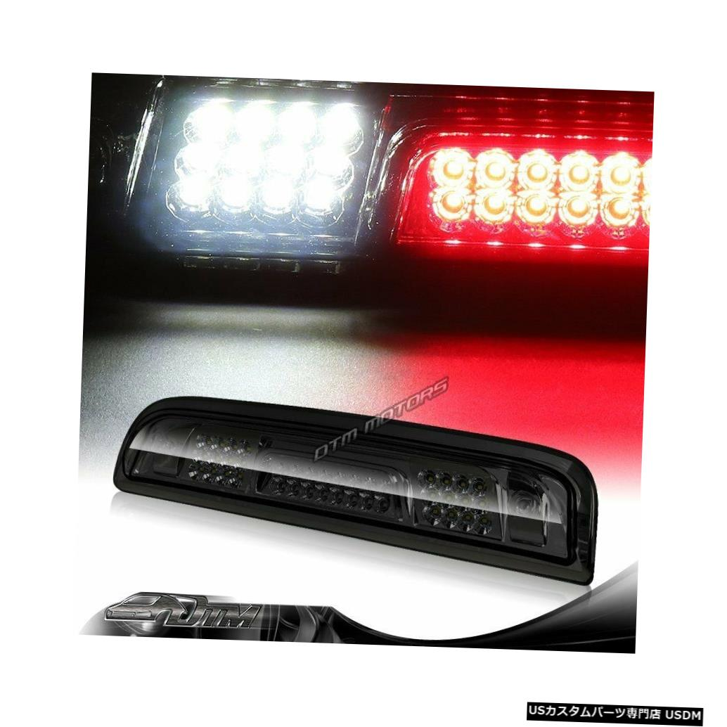 Tail light 14-18シェビーシルバラード/ GMCシエラスモークLED 3RDブレーキテールライトW /カーゴランプ用 For 14-18 Chevy Silverado/GMC Sierra Smoke LED 3RD Brake Tail Light W/Cargo Lamp