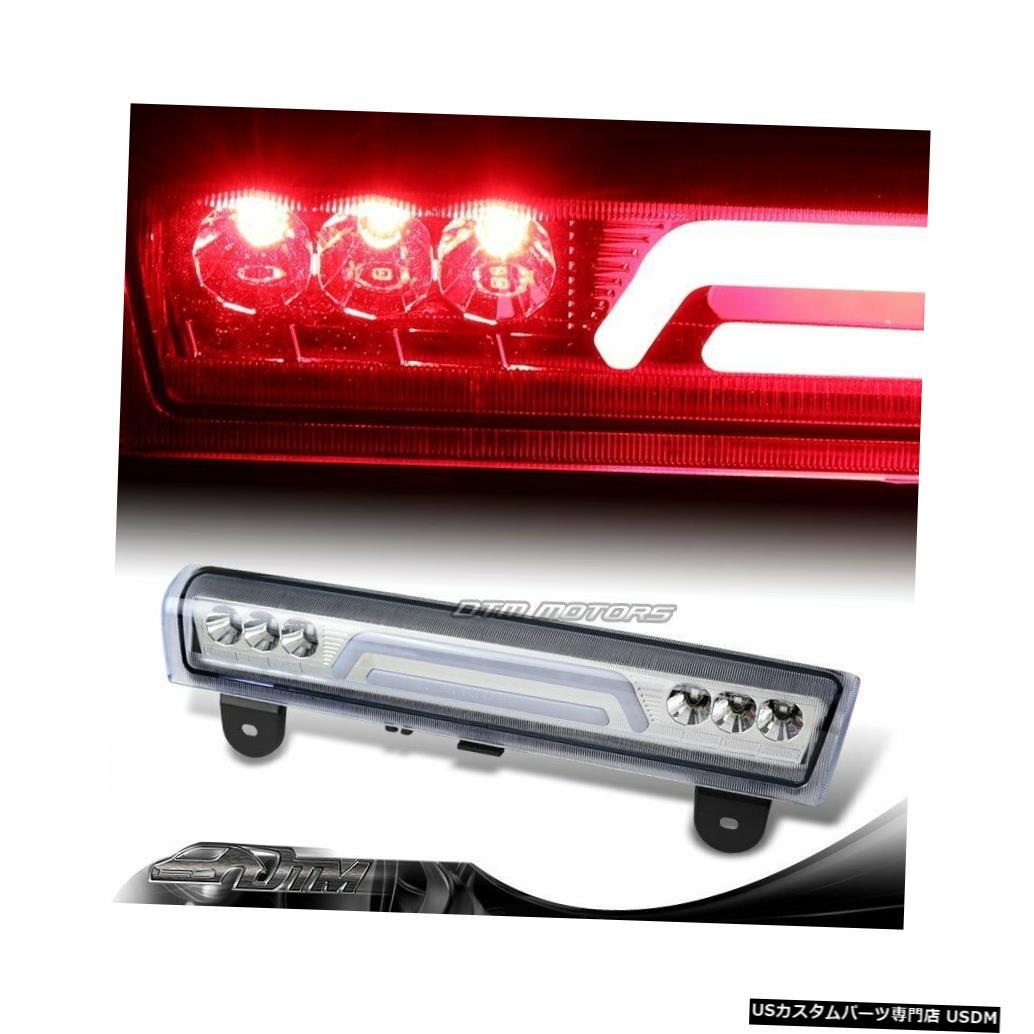 Tail light 2000-2006 GMCユーコンXL 1500 2500クロームLEDバー3RDサードブレーキストップライト For 2000-2006 GMC Yukon XL 1500 2500 Chrome LED BAR 3RD Third Brake Stop Light