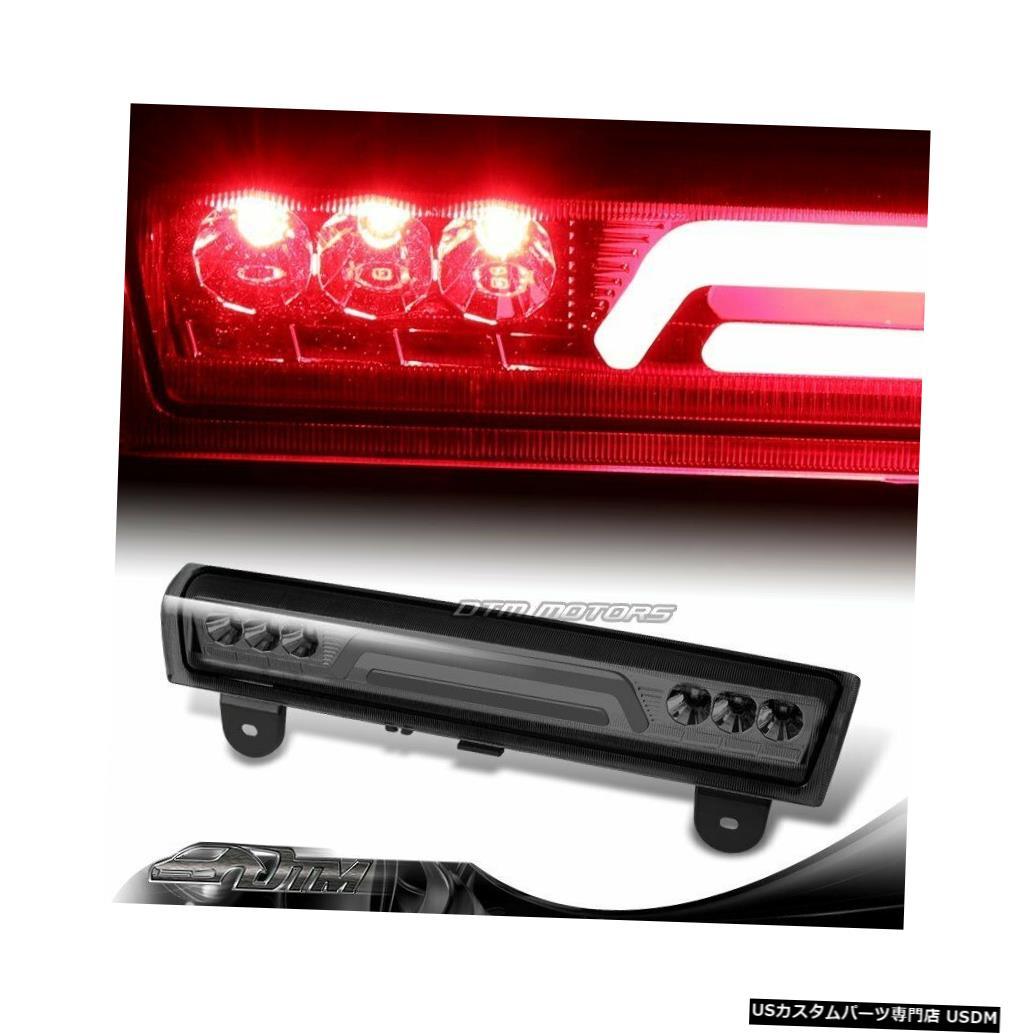 Tail light 2000-2006 GMCユーコンXL 1500 2500スモークレンズLEDバー3RDサードブレーキライト For 2000-2006 GMC Yukon XL 1500 2500 Smoke Lens LED BAR 3RD Third Brake Light