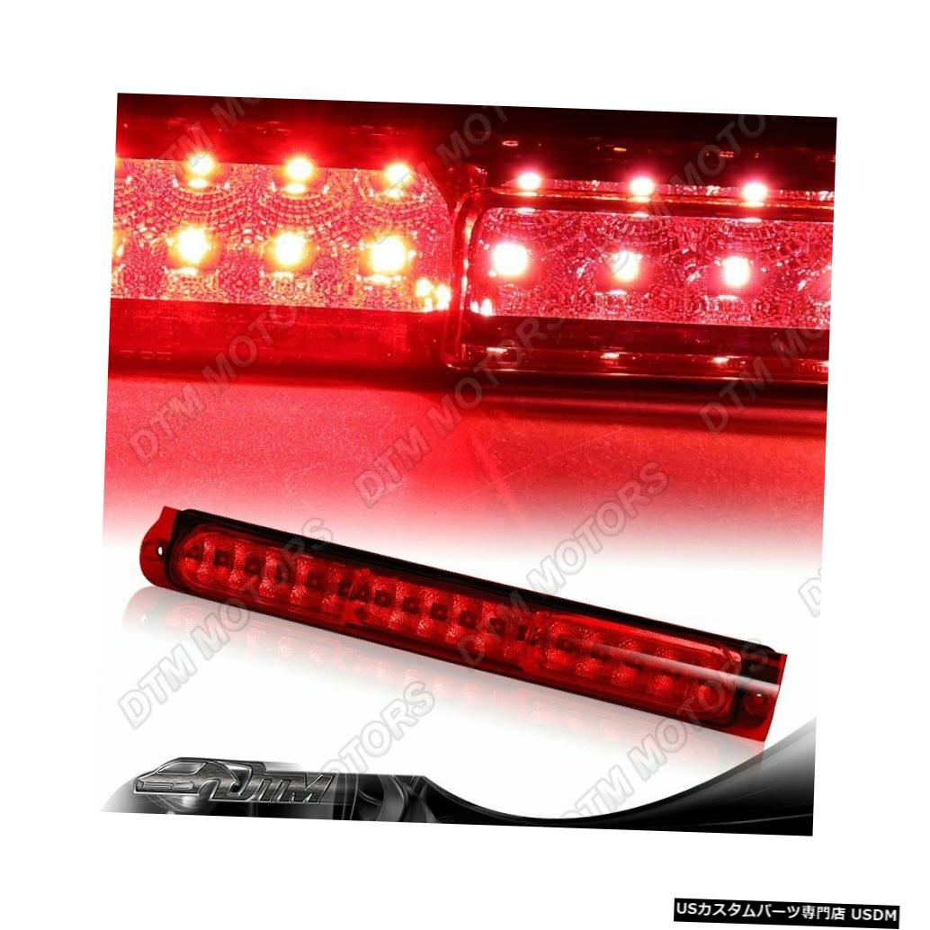 Tail light RED LENS 16-LED THIRD 3RD BRAKE STOP LIGHT CARGO LAMP FIT 1997-2004 FORD F150 RED LENS 16-LED THIRD 3RD BRAKE STOP LIGHT CARGO LAMP FIT 1997-2004 FORD F150