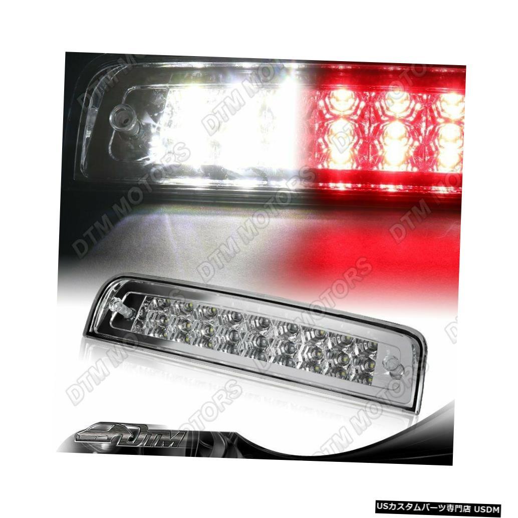 Tail light クロームハウジング27-LED 3rd 3rdブレーキストップライトカーゴランプフィット09-18ダッジRAM CHROME HOUSING 27-LED THIRD 3RD BRAKE STOP LIGHT CARGO LAMP FIT 09-18 DODGE RAM