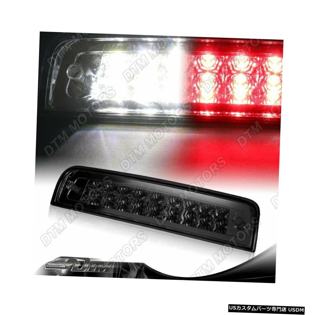 Tail light スモークレンズ27-LEDサード3ブレーキストップライトカーゴランプフィット09-18ダッジRAM SMOKE LENS 27-LED THIRD 3RD BRAKE STOP LIGHT CARGO LAMP FIT 09-18 DODGE RAM