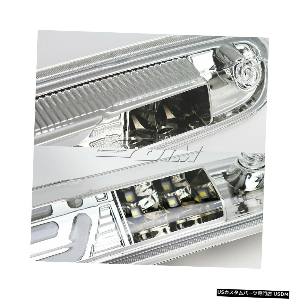 Tail light 2007-2013シェビーシルバラード/ GMCシエラクロームLEDバー3RDサードブレーキライト For 2007-2013 Chevy Silverado/GMC Sierra Chrome LED BAR 3RD Third Brake Light