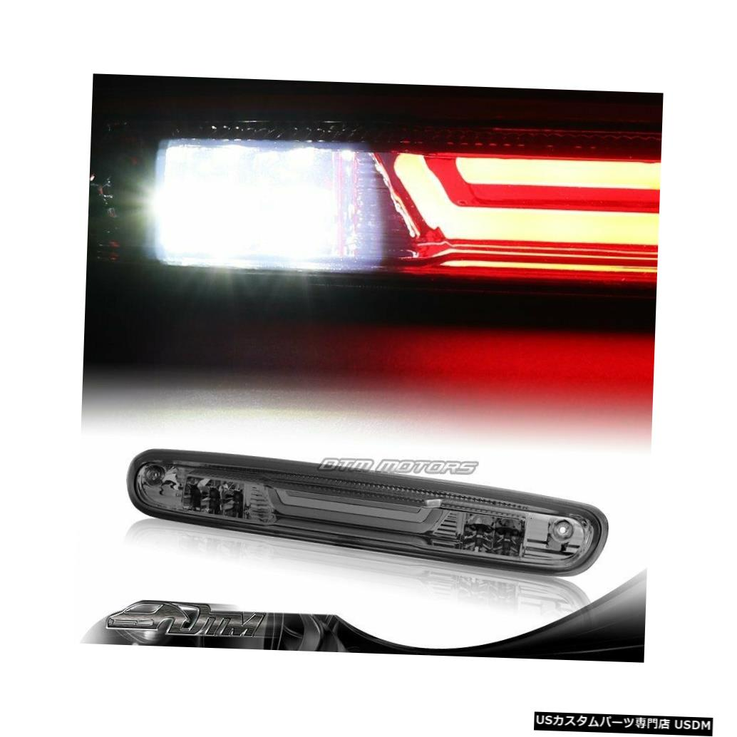 Tail light 2007-2013シェビーシルバラード/ GMCシエラスモークLED BAR 3RDサードブレーキライト For 2007-2013 Chevy Silverado/GMC Sierra Smoke LED BAR 3RD Third Brake Light