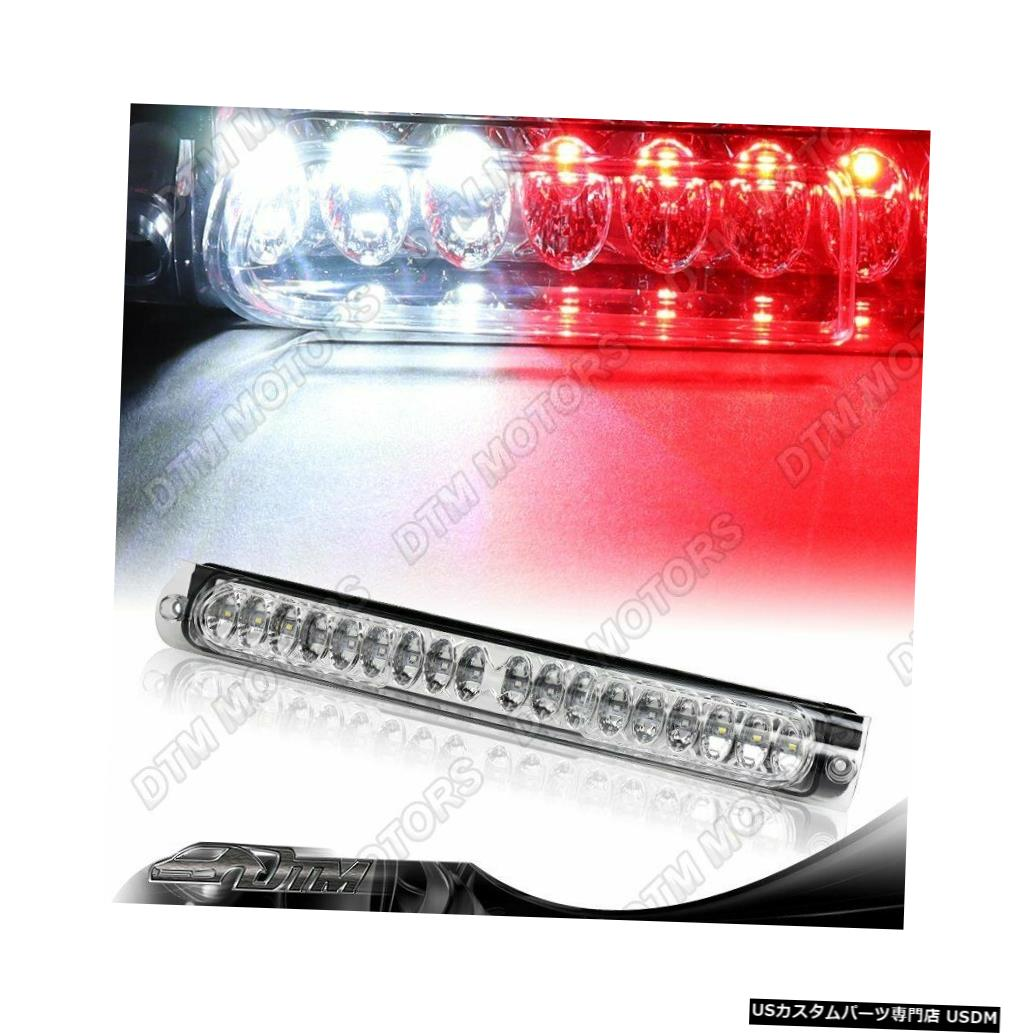 Tail light クロームハウジング18 LED 3サードブレーキストップパーキングライトフィット97-04フォードF-150 CHROME HOUSING 18-LED THIRD 3RD BRAKE STOP PARKING LIGHT FIT 97-04 FORD F-150