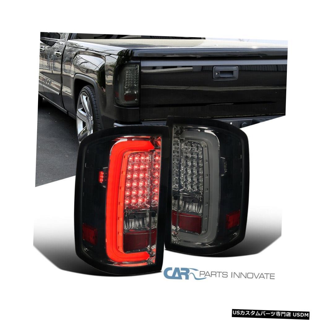 <title>贈与 車用品 バイク用品 >> パーツ ライト ランプ ブレーキ テールランプ Tail light GMC 14-18 Sierra 1500 2500HD 3500HDピックアップスモークLEDテールライトブレーキランプ用 For 3500HD Pickup Smoke LED Lights Brake Lamps</title>