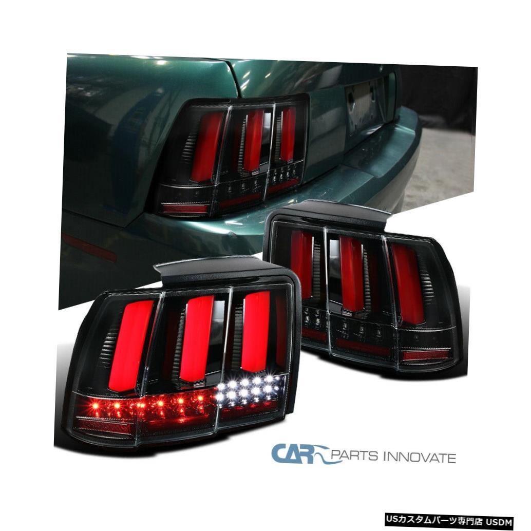 <title>車用品 バイク用品 >> パーツ ライト ランプ ブレーキ テールランプ Tail light 99-04フォードマスタングパールブラックLEDシーケンシャルウインカーテールブレーキライト用 For 99-04 Ford Mustang Pearl Black LED Sequential Turn Signal 在庫あり Brake Lights</title>