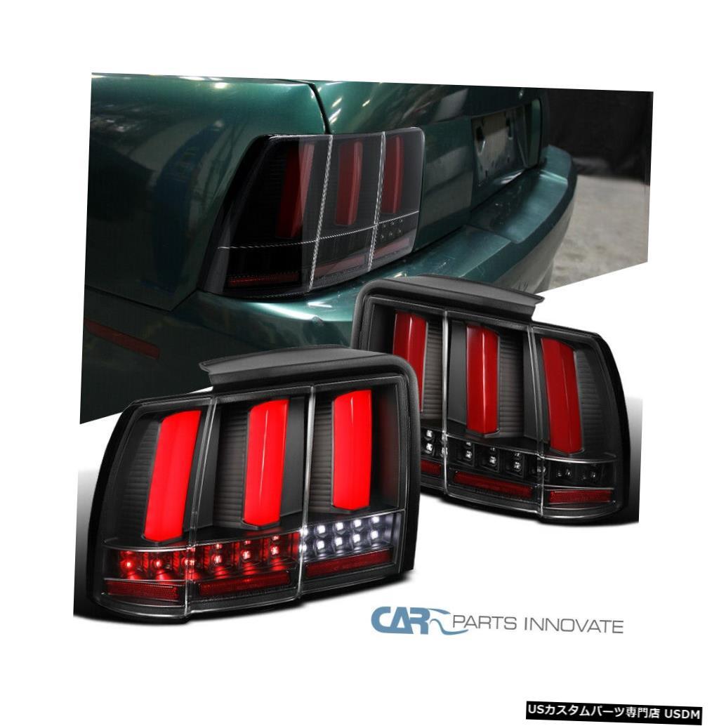 車用品 バイク用品 >> パーツ ライト おしゃれ ランプ ブレーキ テールランプ Tail light 99-04フォードマスタングレッドLEDバーシーケンシャルターンシグナルテールライトGT SVT 99-04 Turn Ford Bars GT LED Signal For Lights Mustang Red Sequential 超激得SALE
