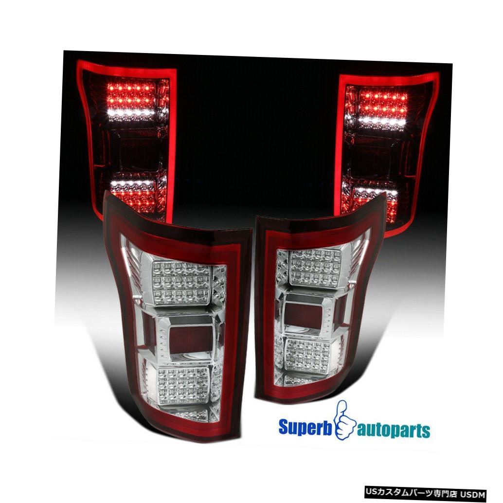<title>車用品 バイク用品 >> パーツ ライト ランプ ブレーキ テールランプ Tail light 海外 2015-2017 Ford F150 RedフルLEDバーリアブレーキテールライト交換用 For Red Full LED Bar Rear Brake Lights Replacement</title>