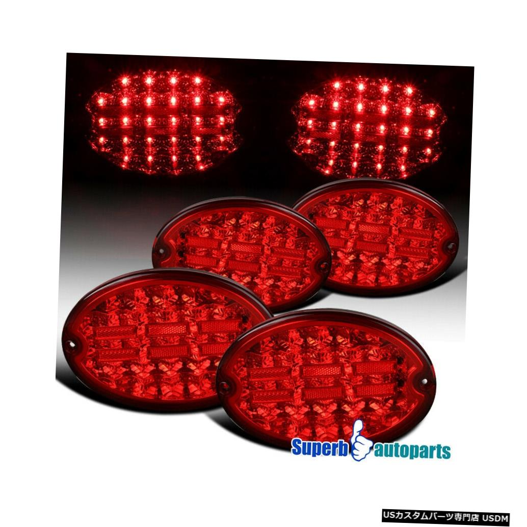 Tail light 1997-2004シボレーコルベットC5 LEDレッドテールライトブレーキランプ For 1997-2004 Chevy Corvette C5 LED Red Tail Lights Brake Lamps