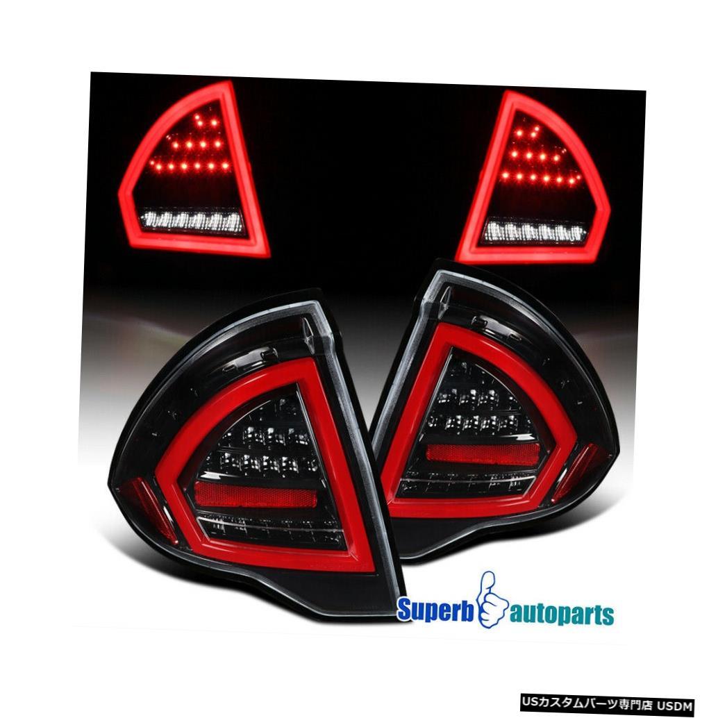 Tail light 2010-2012 Ford FusionシャイニーブラックフルLEDテールライトブレーキランプ For 2010-2012 Ford Fusion Shiny Black Full LED Tail Lights Brake Lamps
