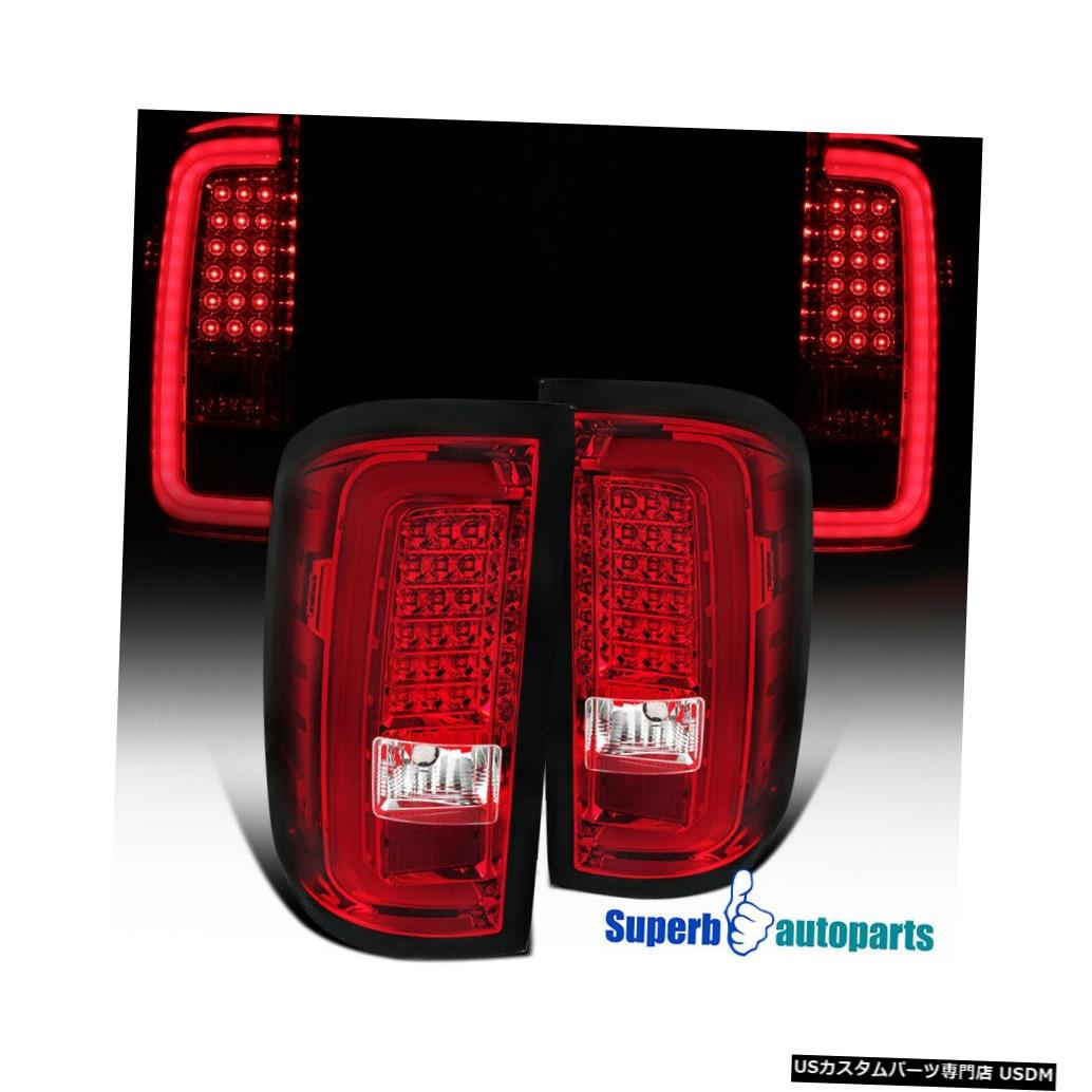 <title>本物◆ 車用品 バイク用品 >> パーツ ライト ランプ ブレーキ テールランプ Tail light 2014-2018 GMCシエラ1500 2500HD 3500HD LEDテールランプブレーキストップライト赤 For GMC Sierra 1500 LED Lamp Brake Stop Lights Red</title>