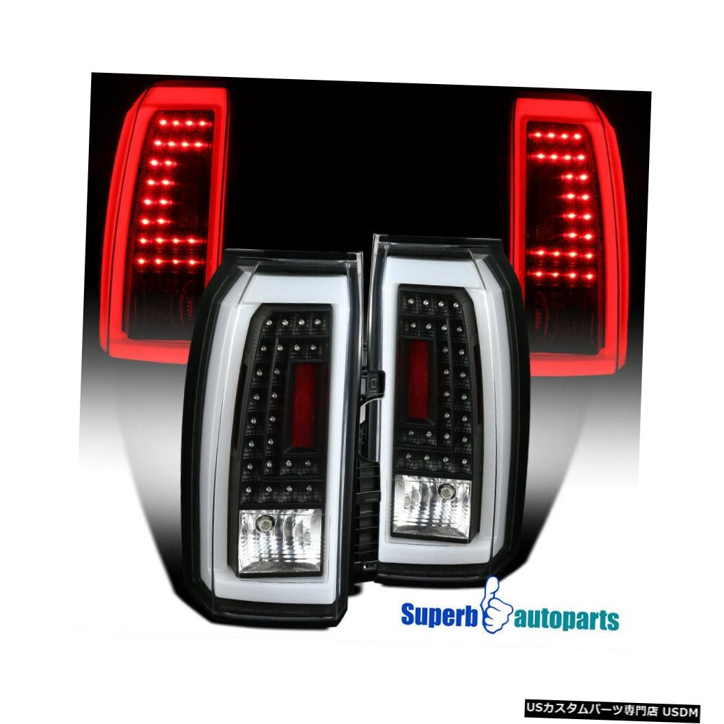 Tail light 2015-2018 Tahoe Suburban LEDテールライト用ブラックリバースブレーキランプ For 2015-2018 Tahoe Suburban LED Tail Lights Black Reverse Brake Lamps