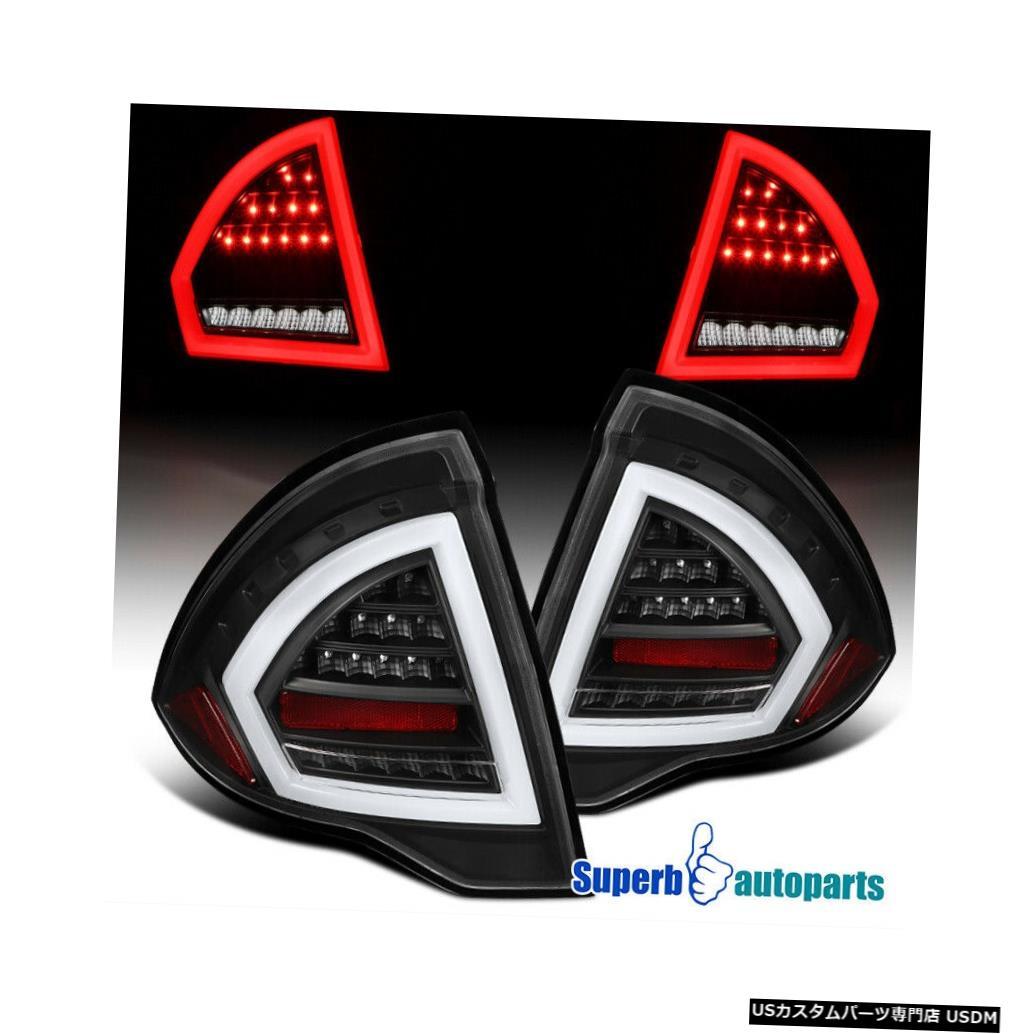 Tail light 2010-2012 Ford FusionブラックフルLEDテールライトリアブレーキランプ For 2010-2012 Ford Fusion Black Full LED Tail Lights Rear Brake Lamps