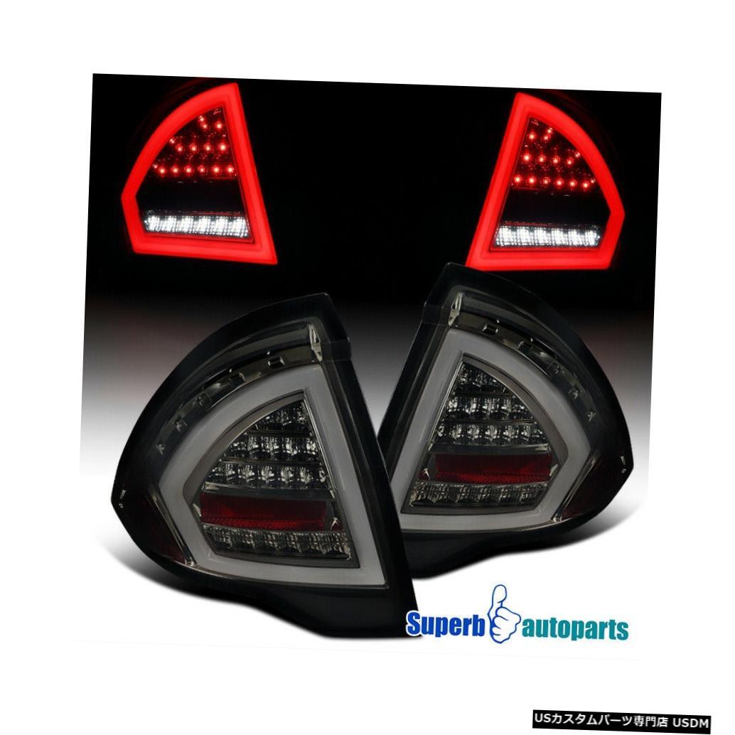 Tail light 2010-2012フォードフュージョンスモークフルLEDテールライトリアブレーキランプ左+右 For 2010-2012 Ford Fusion Smoke Full LED Tail Light Rear Brake Lamps Left+Right