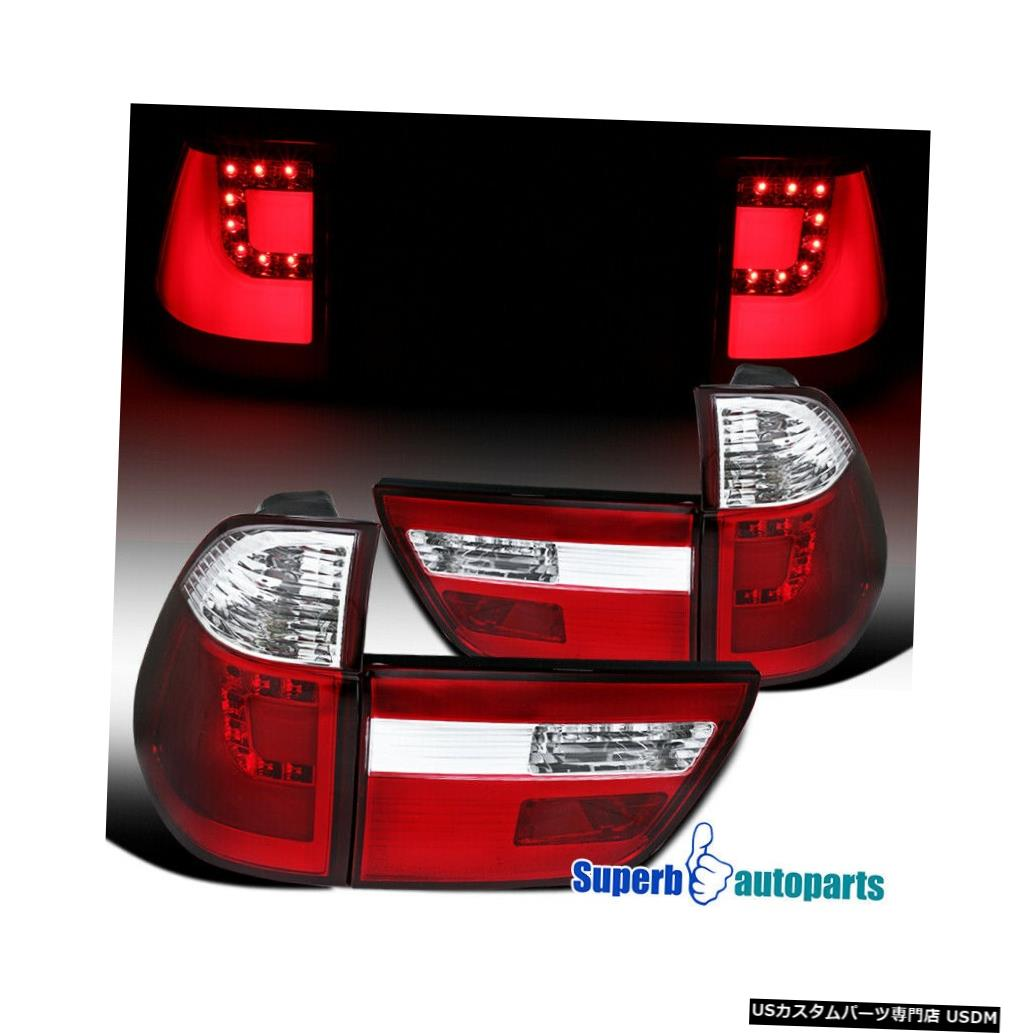 Tail light BMW X5レッドLEDリアテールブレーキライトコーナーシグナルライト For BMW X5 Red LED Rear Tail Brake Lights Corner Signal Lights