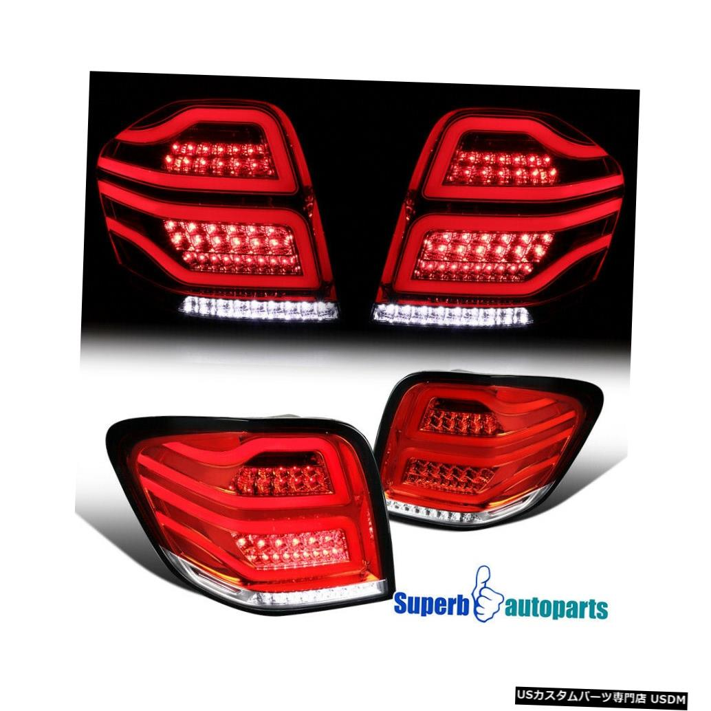 Tail light 2006-2011メルセデスMLクラスW164レッド/フルLEDブレーキランプテールライト For 2006-2011 Mercedes ML-Class W164 Red/Full LED Brake Lamps Tail Lights