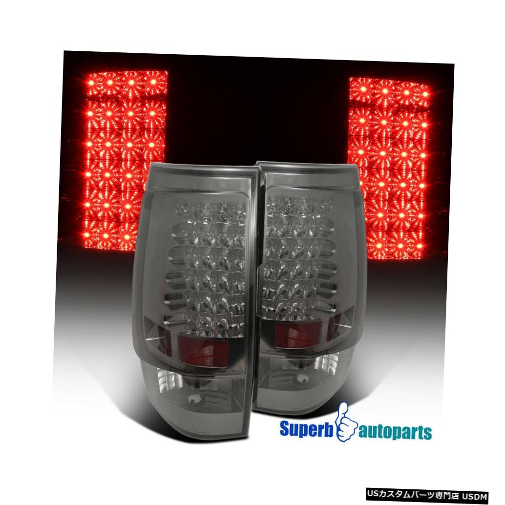 Tail light 2007-2014シボレータホ郊外LED交換用テールライトブレーキランプの煙 For 2007-2014 Chevy Tahoe Suburban LED Replacement Tail Lights Brake Lamps Smoke
