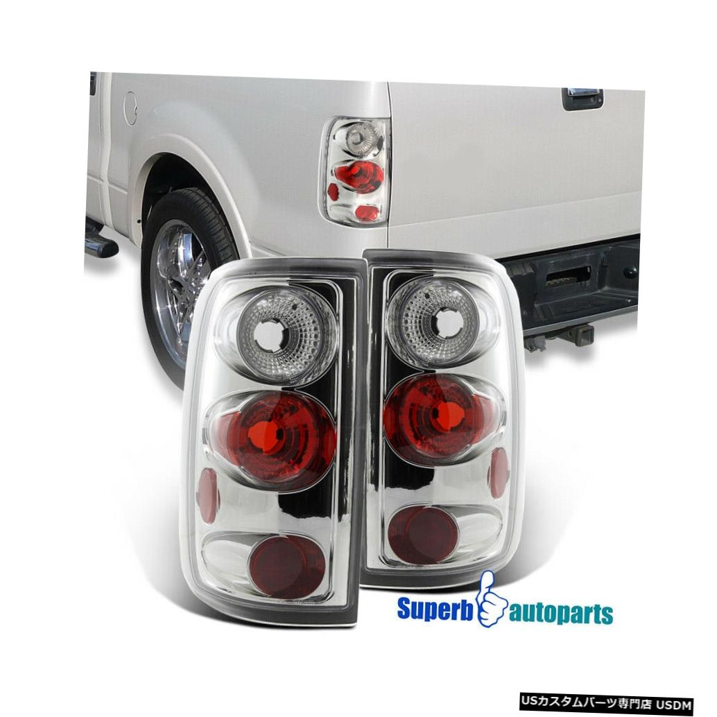 Tail light 2004-2008 Ford F150 F-150 Stylesideテールライトブレーキランプペア For 2004-2008 Ford F150 F-150 Styleside Tail Lights Brake Lamps Pair