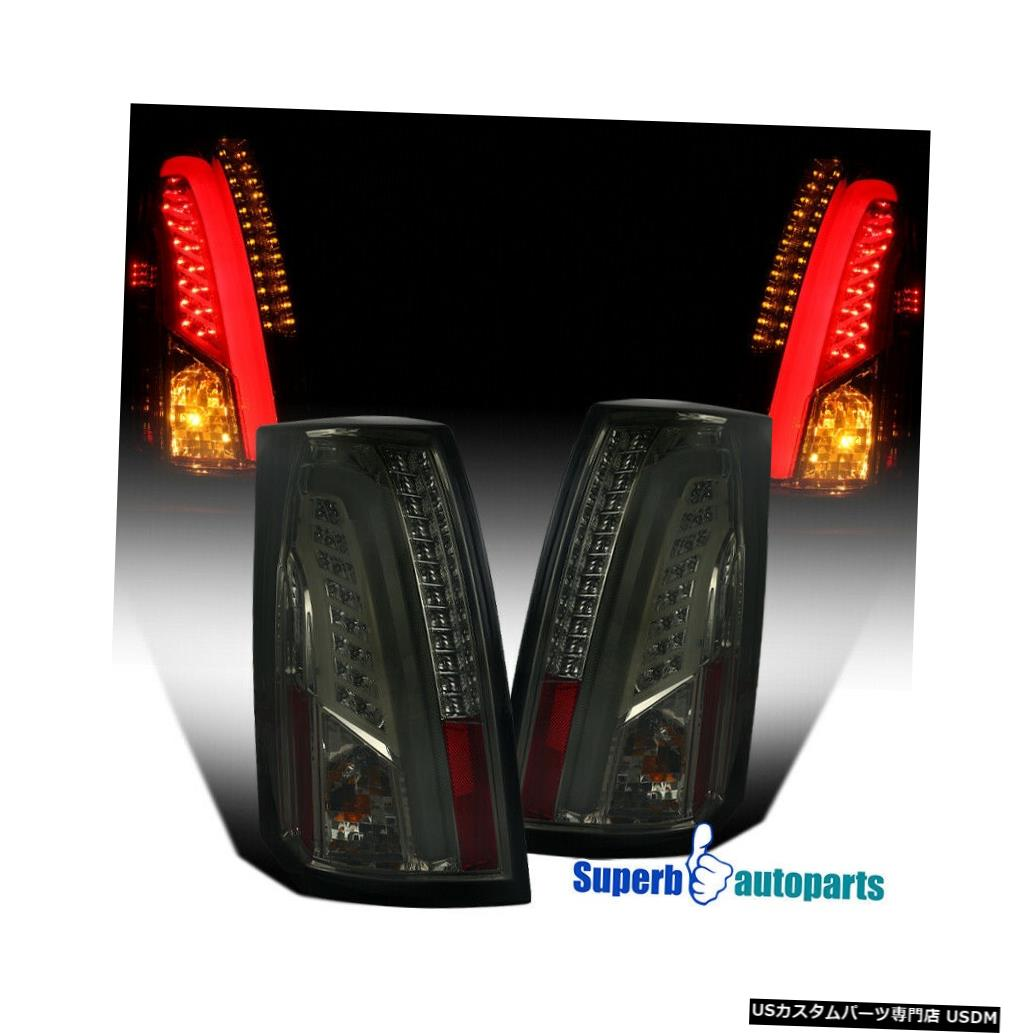 Tail light 2003-2007キャデラックLEDバーCTSスモークテールブレーキライトストップランプ For 2003-2007 Cadillac LED Bar CTS Smoke Tail Brake Lights Stop Lamps