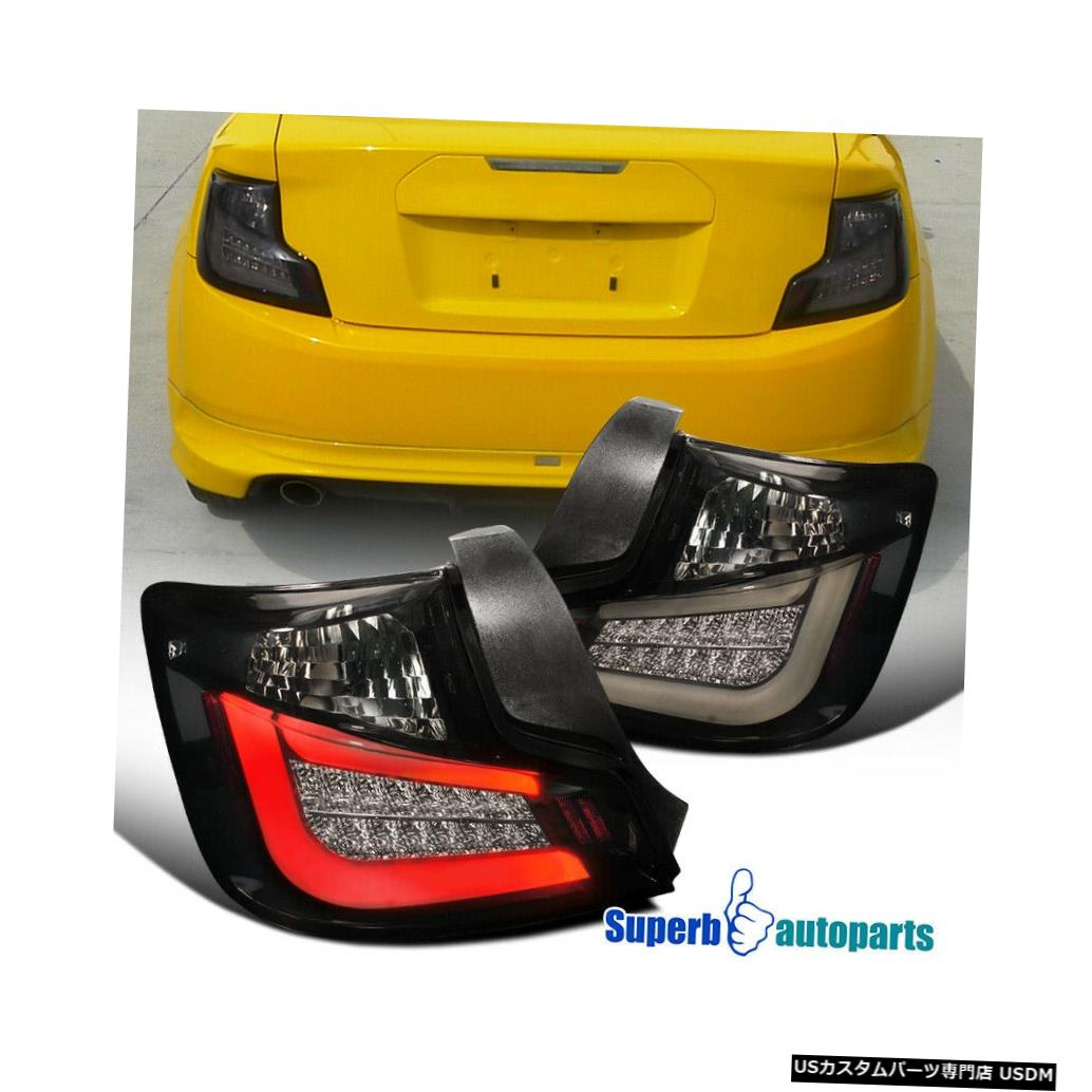 Tail light 2011-2013のScion tC光沢のある黒いLEDテールライトブレーキランプダークスモーク For 2011-2013 Scion tC Glossy Black LED Tail Lights Brake Lamps Dark Smoke