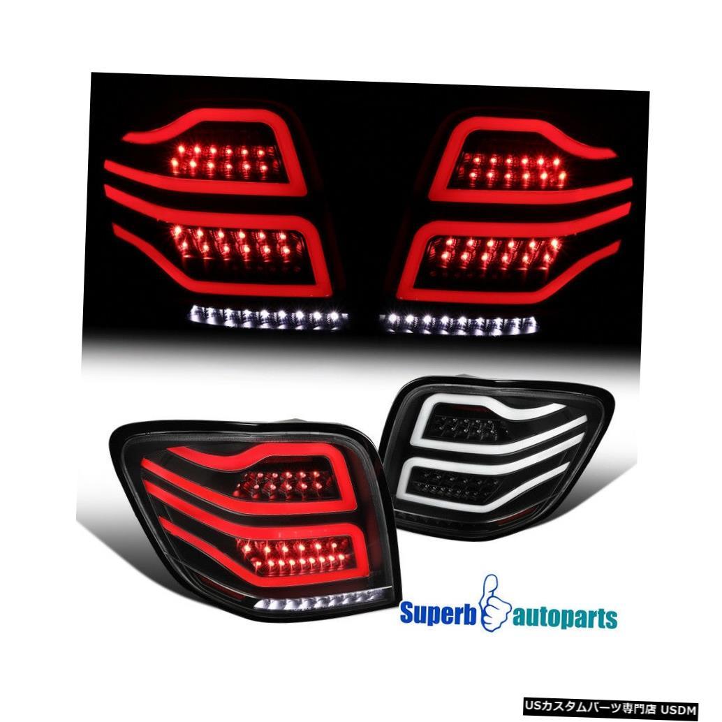 Tail light 2006-2011メルセデスMLクラスW164ブラックLEDリアブレーキランプテールライト For 2006-2011 Mercedes ML-Class W164 Black LED Rear Brake Lamps Tail Lights