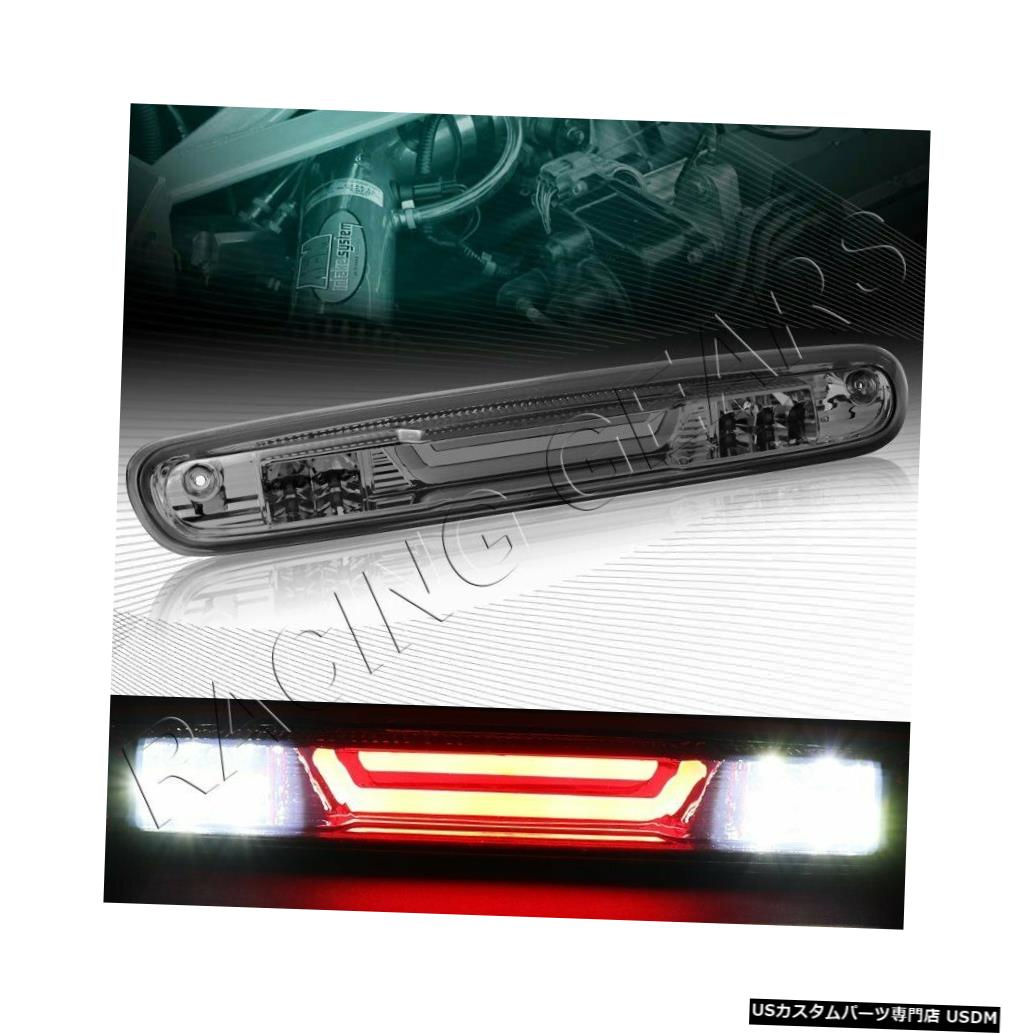 Tail light スモーク3RDサードLEDバーリアブレーキライトフィット07-14シボレーシルベラード2500 3500HD SMOKE 3RD THIRD LED BAR REAR BRAKE LIGHT FIT 07-14 CHEVY SILVERADO 2500 3500HD