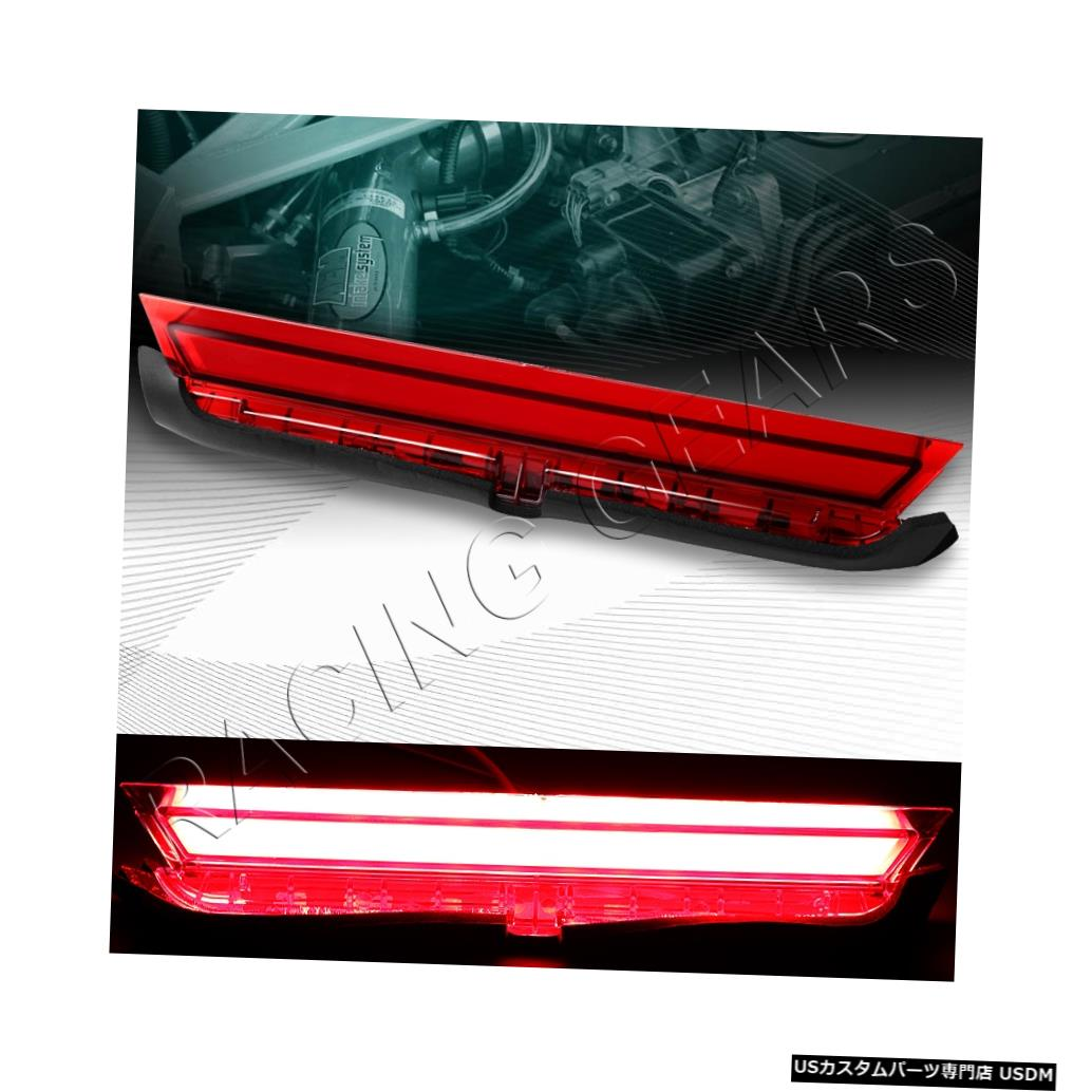 Tail light FIT SCION TCクロームハウジングレッドレンズ3RD 3rd LEDバーブレーキストップテールライト FIT SCION TC CHROME HOUSING RED LENS 3RD THIRD LED BAR BRAKE STOP TAIL LIGHT