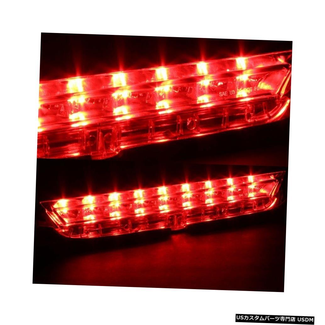 Tail light FIT 2011-2016サイオンTCクロームハウジングクリアレンズ3RDサードLEDリアブレーキライト FIT 2011-2016 SCION TC CHROME HOUSING CLEAR LENS 3RD THIRD LED REAR BRAKE LIGHT
