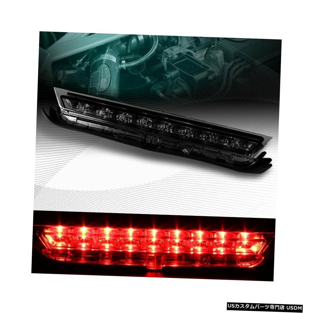 Tail light クロームハウジングスモークレンズ3RD THIRD LEDリアブレーキテールライトフィット11-16サイオンTC CHROME HOUSING SMOKE LENS 3RD THIRD LED REAR BRAKE TAIL LIGHT FIT 11-16 SCION TC
